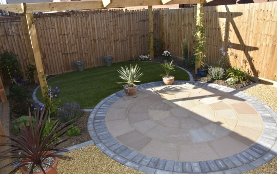Low Maintenance Garden - After Photo