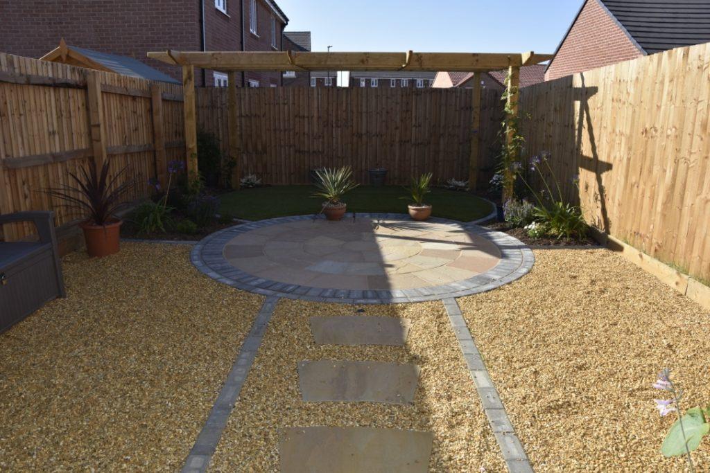 Low Maintenance Garden Design Amp Build Project Dh Multi